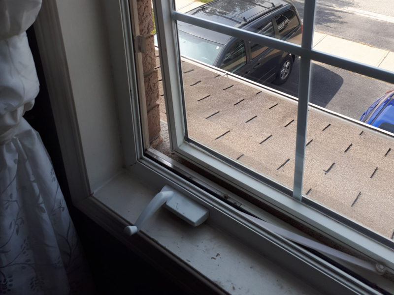window hinge replacement