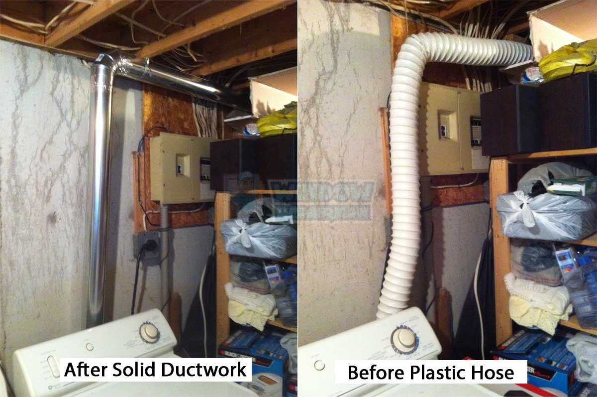 dryer vent installation