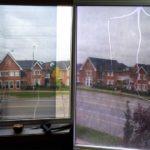 window film cracked glass